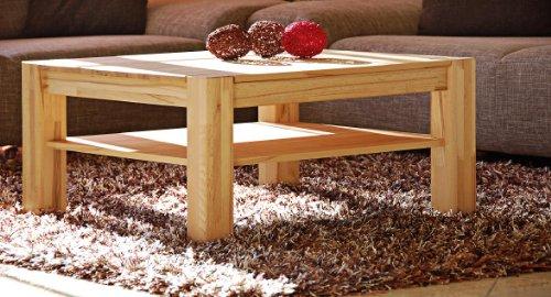 Möbeldesign Team 2000 Couchtisch Wohnzimmertisch Sofatisch 110x70 kernbuche massiv, geölt 1171-2