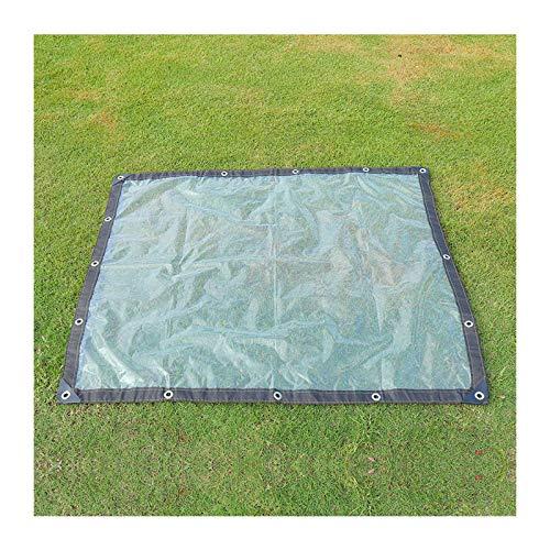 GZHENH Lona Impermeable Resistente Espesar película plástica Mantener Caliente A Prueba de Viento Protección contra el frío Película de Ventana, 24 tamaños (Color : Claro, Size : 2x8m)