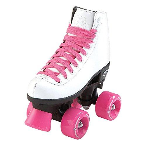 Riedell Schlittschuhe Wave Mädchen Roller Skate, Unisex, weiß