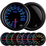 GlowShift Tinted 7 Color 2400 F Pyrometer Exhaust Gas Temperature EGT Gauge...