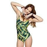 Cherry Beach Hobie Beach Traje de baño de una Sola Pieza, Negro, 38 para Mujer