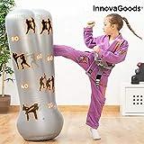 InnovaGoods- Saco de Boxeo de Pie Hinchable para Niños (IGS IG814625)