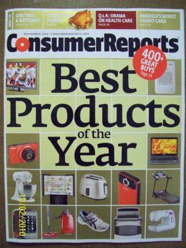 Consumer Reports Magazine, November  2010