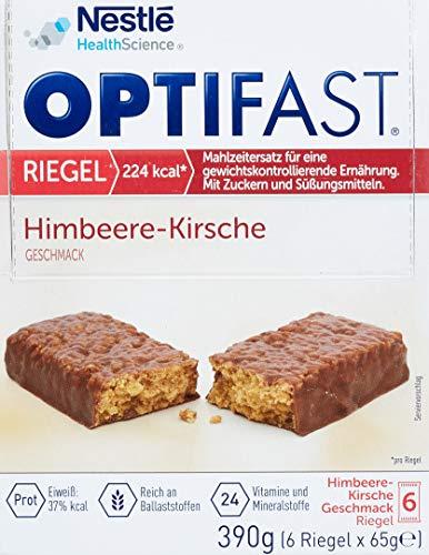 Optifast Diaetriegel Himbeer/Kirsch, 400 g 15996531-1