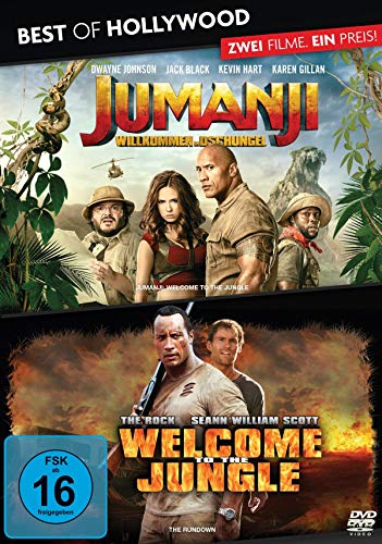Best of Hollywood - 2 Movie Collector's Pack: Jumanji: Willkommen im Dschungel/ Welcome... [2 DVDs]