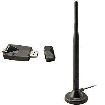 C. Crane Versa USB WiFi Adapter 3 – High Power Long Range 802.11 B G N Wireless Network Adapter