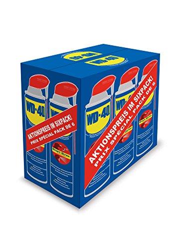 WD-40 Multifunktionsprodukt Smart Straw, 6 Dosen im praktischen Sixpack, 49937, 6 x 500ml
