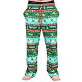National Lampoon's Griswold Family Christmas Vacation Fair isle Lounge Pants (Adult Medium)