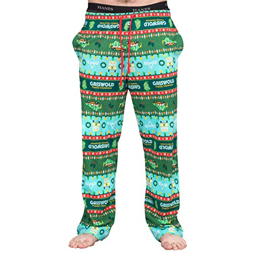 National Lampoon s Griswold Family Christmas Vacation Fair isle Lounge Pants (Adult Medium)