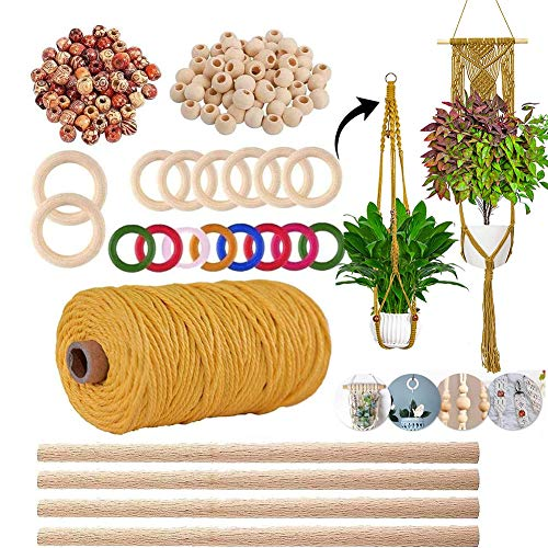 Macrame Plant Hanger Kits for Beginners Crafts Kits for Adults Art Supplies &...