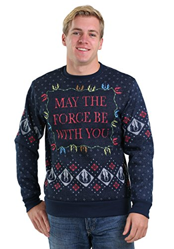 Star Wars Xmas Force Men's Ugly Christmas Sweater X-Large