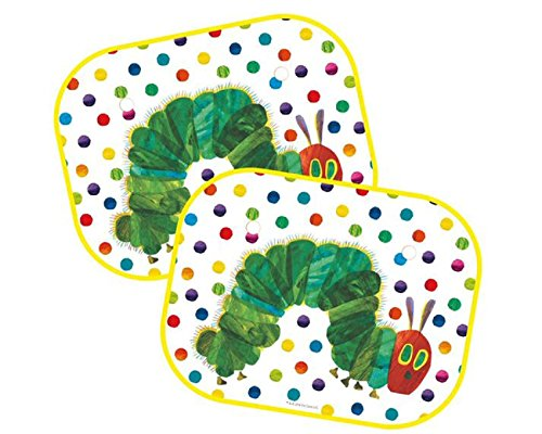 Hungry Caterpillar Very Car Window Sun Shades: Set of Two