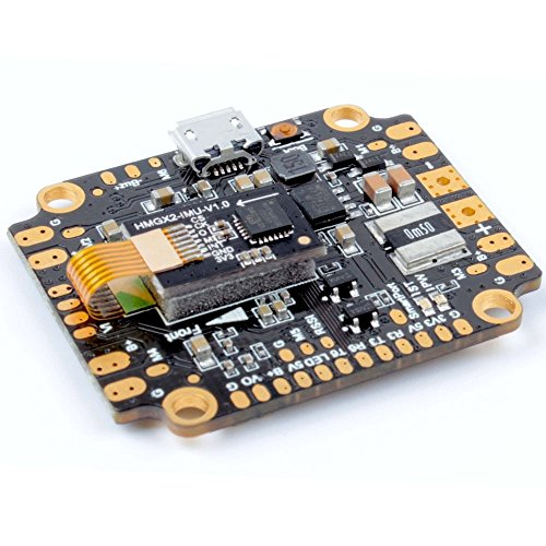 F4 AIO Flight Controller Integrated PDB , Betaflight OSD , BEC ( ICM20689 with 6-axis Gyro , 120A Continuous Current , Input Voltage 7v-42v ) for FPV Racing RC Drone Quadcopter