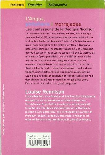 L'Angus, pintallavis i morrejades.: Les confessions de la Georgia Nicolson (L'ODISSEA)