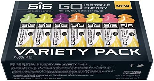 Science in Sport 60 ml Energy Gel Variety - Pack of 7 by Science in Sport