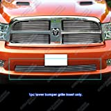 APS Compatible with 2009-2012 Ram 1500 Sport Express Bumper Billet Grille Grill Insert D66883A
