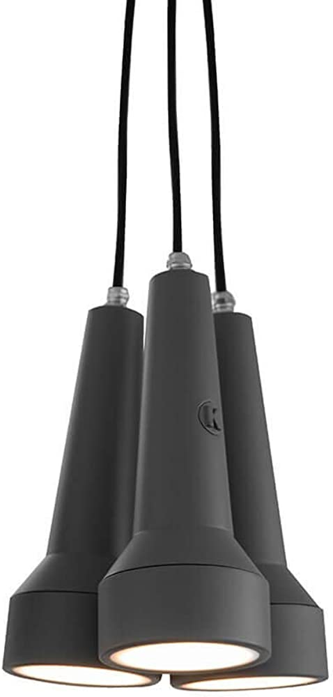 Karman torcia,  lampada led a sospensione multipla 3 torce SE155CG INT