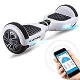 Hoverboard Bluewheel HX310s Smart 6.5' Gyropode APP Self Balance Scooter Board Electrique, Marque Allemande Certifié UL, Mode sécurité maximale Enfant (Auto-Equilibrage), Skateboard électrique