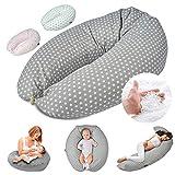 Almohada de lactancia Almohada de embarazo para dormir, descansar y amamantar Almohada para dormir...