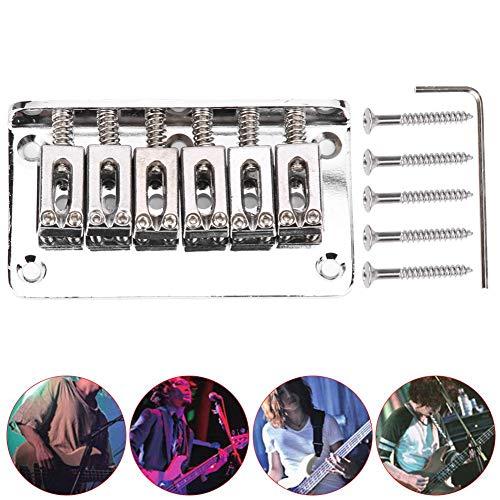 Accesorios de guitarra eléctrica, puente de guitarra eléctrica de aplicación amplia de...