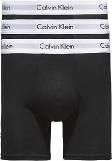 Calvin Klein Men's 000NB1770A Boxer Shorts, Black, L (Pack of 3)
