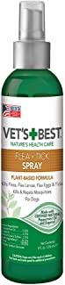Vet's Best Flea and Tick Dog Spray | Flea Treatment for Dogs | Flea Killer with Certified Natural Oils | 8 Ounces