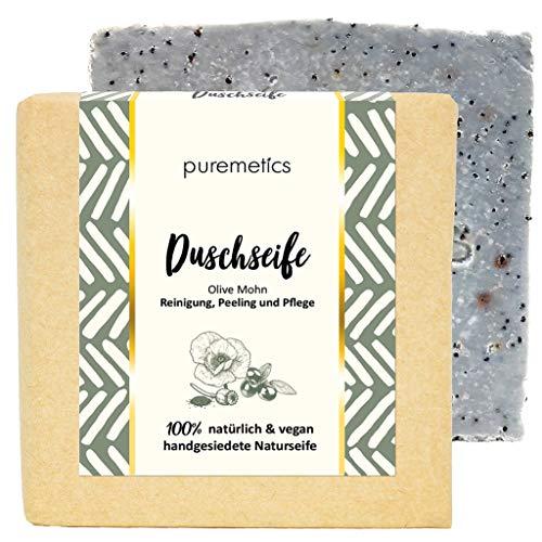 Puremetics Zero Waste peelende douche-zeep