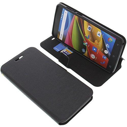 foto-kontor Tasche für Archos 55b Cobalt Lite Book Style schwarz Schutz Hülle Buch