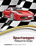 Sportwagen-Malbuch für Kinder