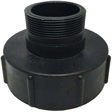 1000L IBC Water Tank 50mm 2/'/' Valve Adapter Connector Barrels Fitting Parts Kit