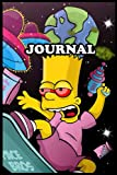 Journal Simpsons Notebook Calendar 2022 Planner Monthly Weekly Edition 12: Gift Kids Adult Collector