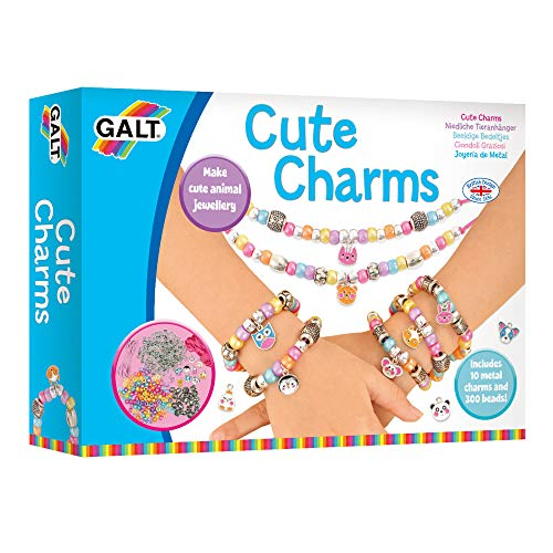 Galt Toys, Cute Charms, Kids' Craft Kits, Ages 5 Years Plus