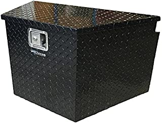 Pit Posse Trailer Tongue Storage Tool Box (Black)