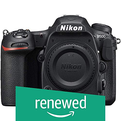 Nikon D500 DX-Format Digital SLR (Body Only) (Renewed)