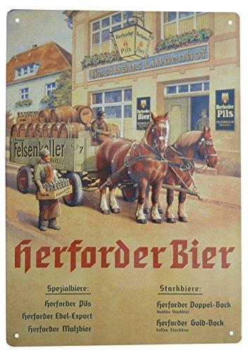 Herforder Pils - Blechschild 30 x 20 cm - Edition 2017 #3