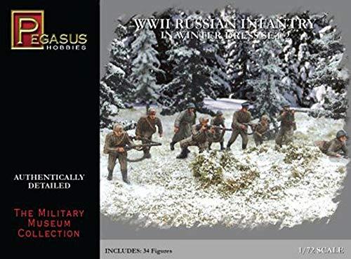 Infanterie russe de la 2ème GM - tenue d'hiver Set 2