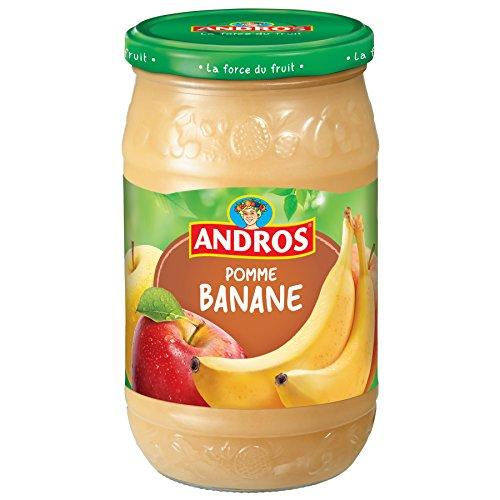 Andros Composta di Mele Banana 750 G