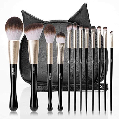 LHY- 12 Maquillage Black Cat Brosse de débutant Ensemble Complet d'outils de Maquillage Ombre à paupières Pinceau pinceau de maquillage Mode
