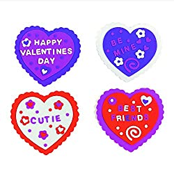 Easy Valentine's Day crafts for Girl Scouts-make your own Valentine craft kit