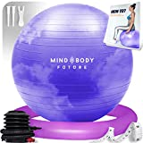 Palla Svizzera da Ginnastica di Mind Body Future. Swiss Gym Ball...