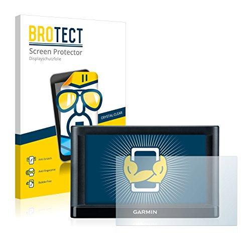 BROTECT Schutzfolie kompatibel mit Garmin nüvi 65LMT (2 Stück) klare Displayschutz-Folie