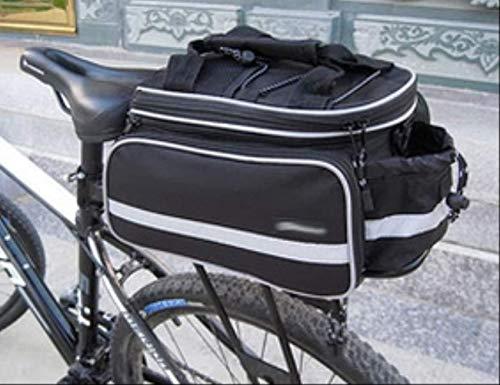 Yunmeng staarttas met zijvak voor fiets, outdoor, rek, fietstas, draagbaar