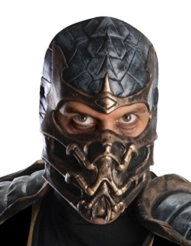 Rubie's Mortal Kombat Deluxe Overhead Scorpion Mask, Brown, One Size