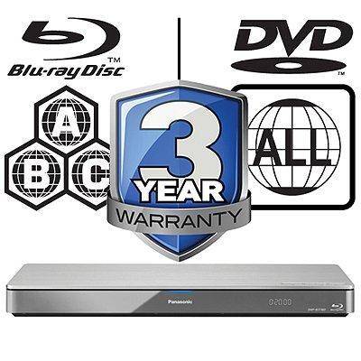 Panasonic DMP-BDT460EB – 4K hochskalierender Full HD 3D Blu-ray Player Wi-Fi