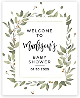Bridal Shower Canvas Sign Baby Shower Poster Board,Baby shower welcome Sugar spice canvas sign Baby Shower Canvas sign Sweet 16 Canvas