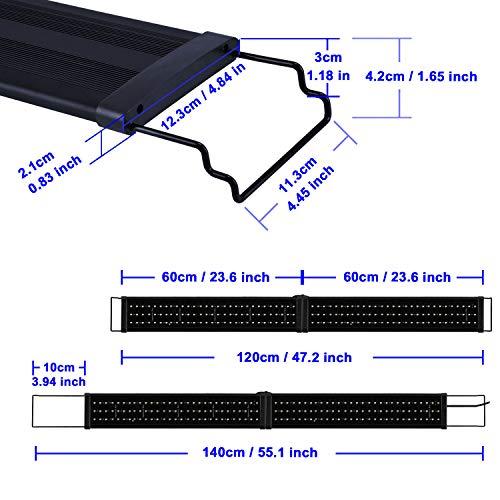 Aquarien ECO Rampe LED Aquarium 120CM...