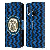 Head Case Designs Ufficiale Inter Milan in Casa 2020/21 Kit Crest Cover in Pelle a Portafoglio Compatibile con Samsung Galaxy A20e (2019)