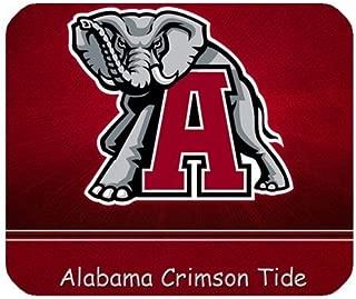 1 X Alabama Crimson Tide NCAA College Football Team Logo Personalized Rectangle Mouse Pad