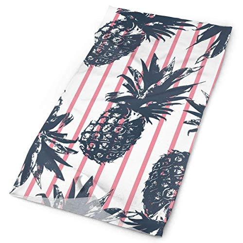 NA - Gorro de sol para mujer y hombre, Mujer, color Plantas tropicales Piña Divertida, tamaño 10x20 inch (25x50cm)