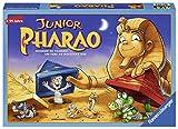 Ravensburger 21435 Junior Pharao - Juego de Mesa para Toda la Familia, versión Junior, Juego para Adultos y niños a Partir de 5 años, para 2-4 Jugadores